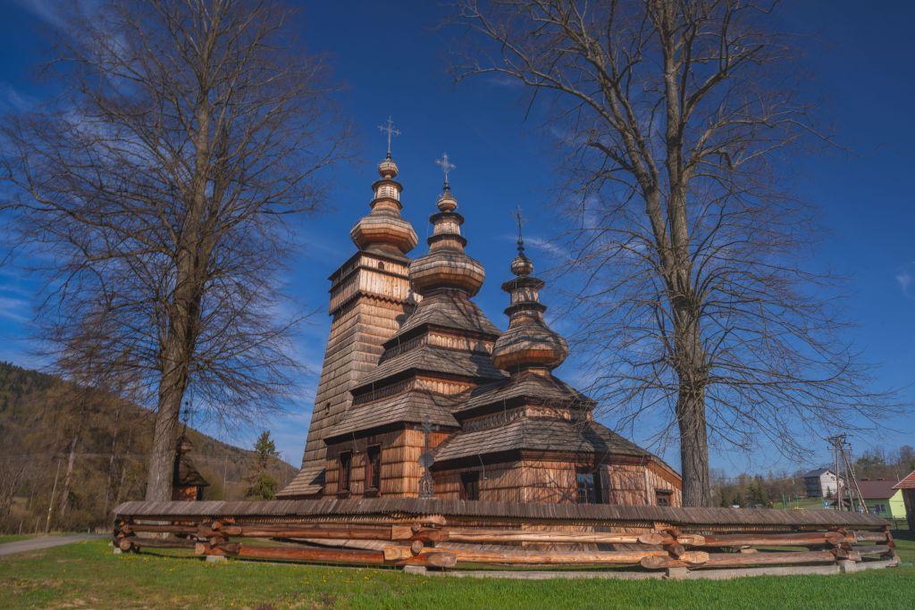 Cerkiew parafialna greckokatolicka św. Paraskewii.