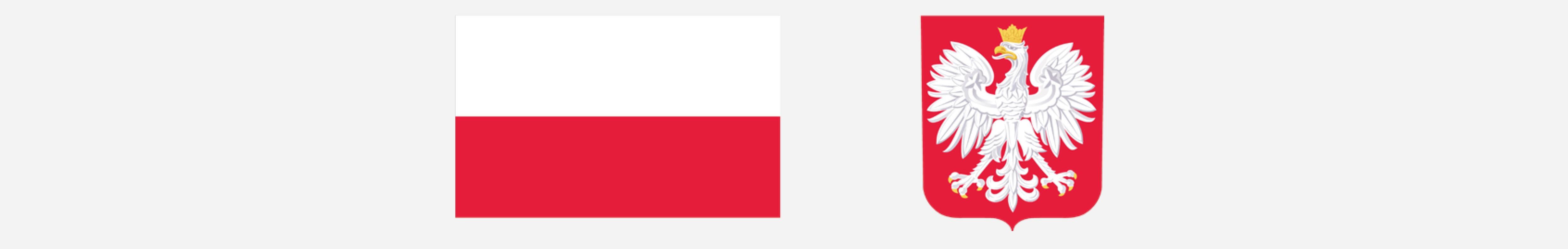 Godło i herb Polski.