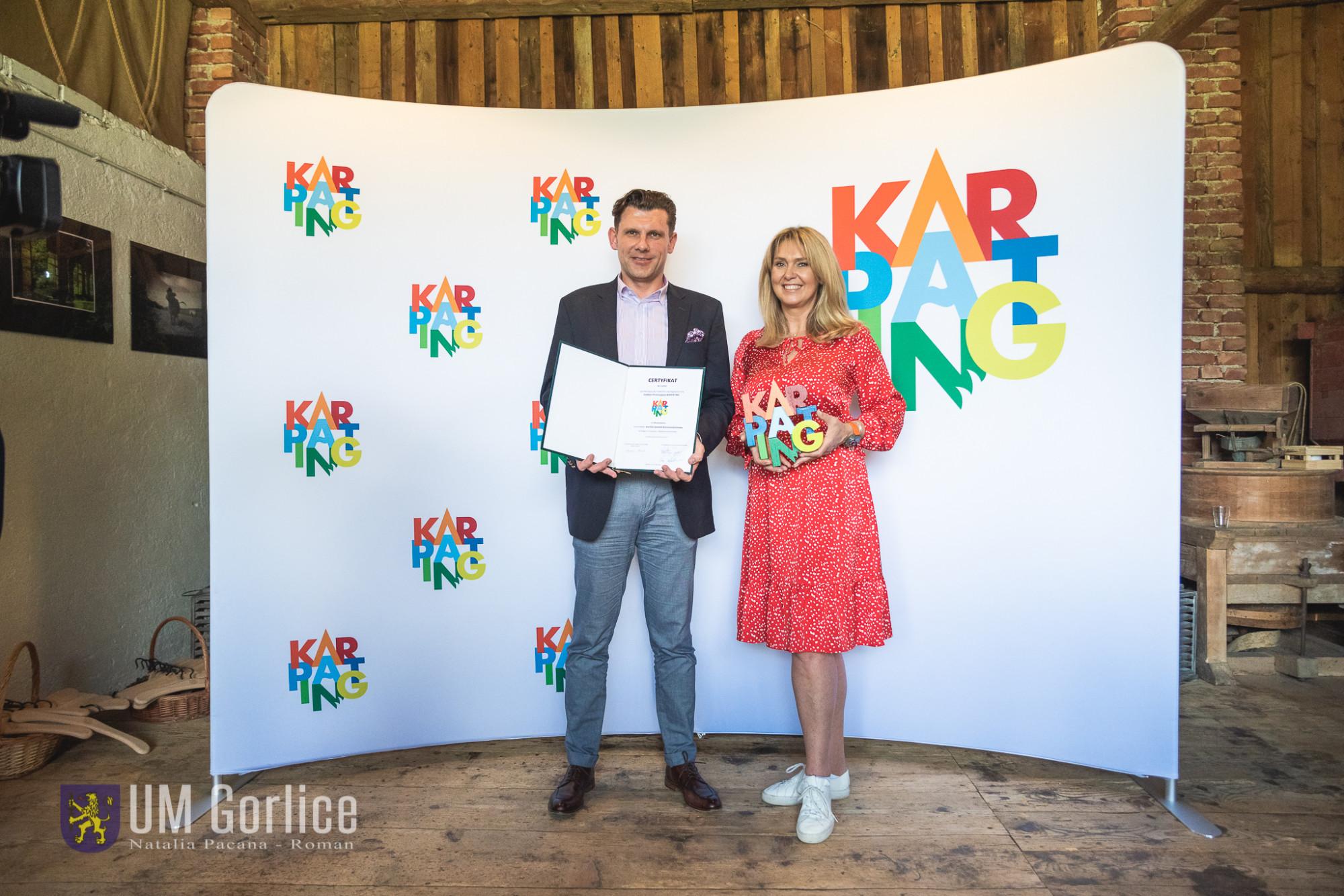 Przyznano certyfikaty marki Karpating