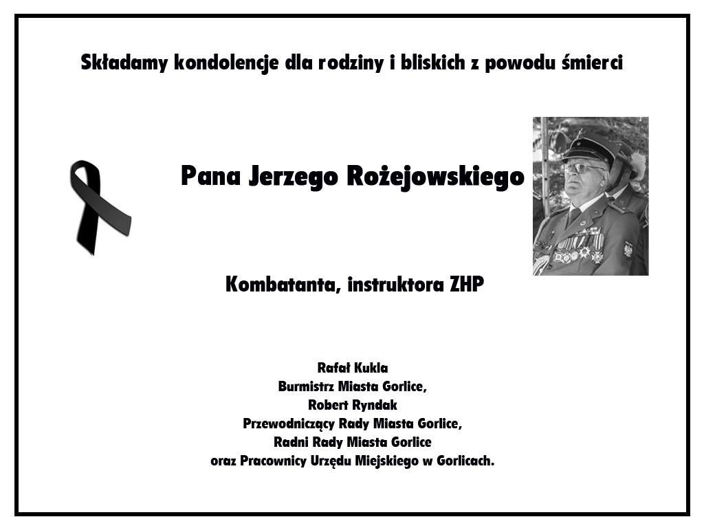 Nerkolog Jerzego Rożejowskiego.